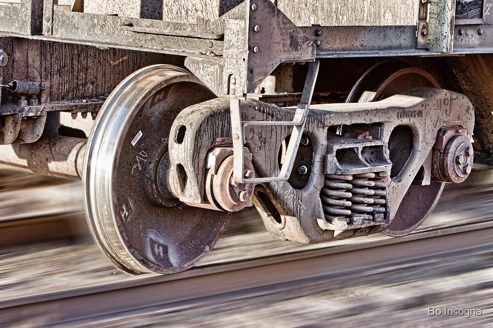 Steel Hitting Steel by Bo Insogna