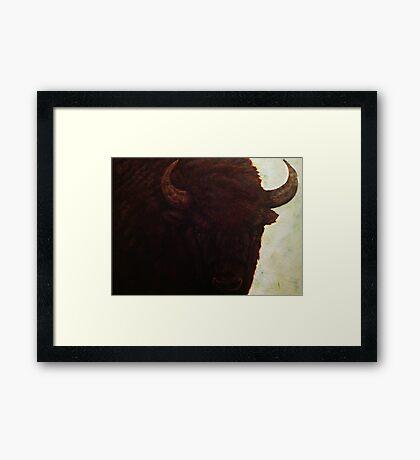 Wisent IV Framed Print