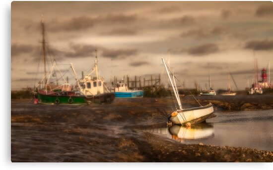 Boats waiting for the tide by Patricia Jacobs DPAGB LRPS BPE4