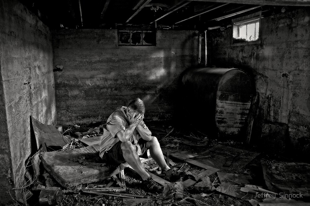 Anguish by Jeffrey  Sinnock