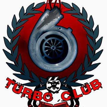 Turbo Club Tee Shirt by ArtGear