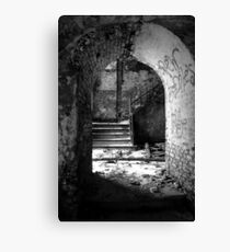 Dilapidated Canvas Print