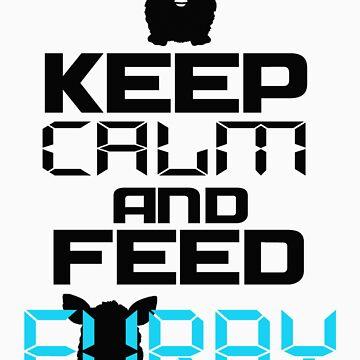 Keep calm and feed Furby by artofdesign21