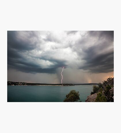 Cronulla Lightning Bolt Photographic Print