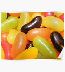Jelly Bean Background Poster