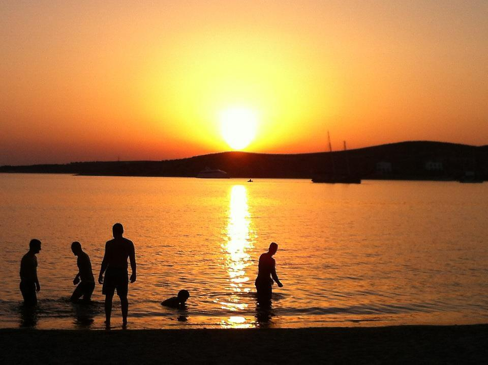 Sunset in Paros, Greece by Caidy