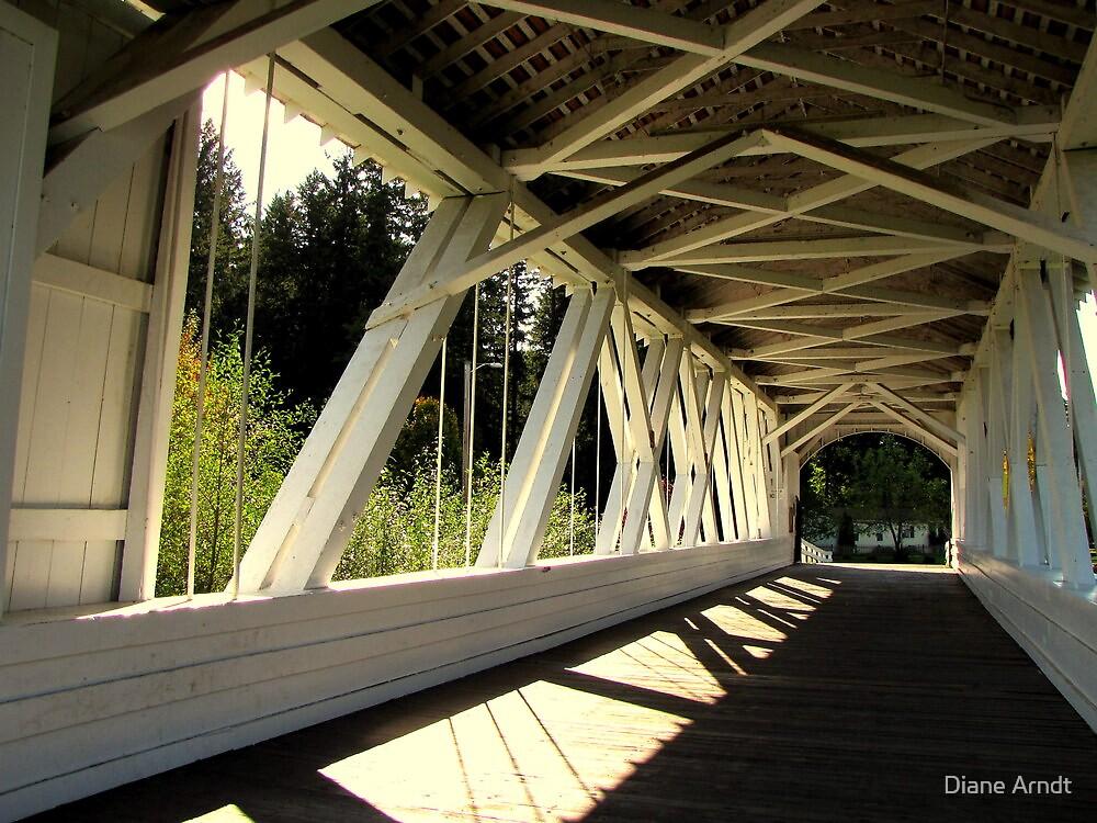 Bridge Of Shadow's...Sweet Home, Oregon by Diane Arndt