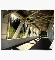 Bridge Of Shadow's...Sweet Home, Oregon Poster