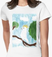 Cocky Womens Fitted T-Shirt