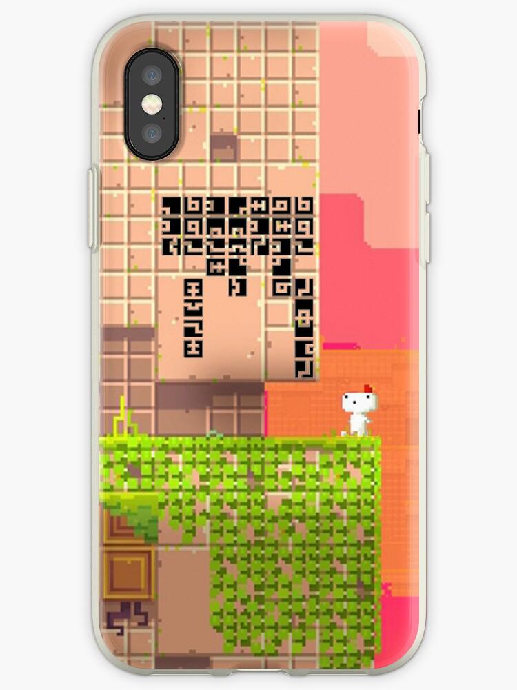 Quick Fox Fez iphone cover by eclipzeundersco