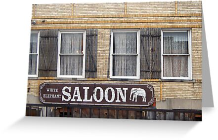 White Elephant Saloon  by John  Kapusta