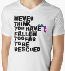 Rescued  Men's V-Neck T-Shirt