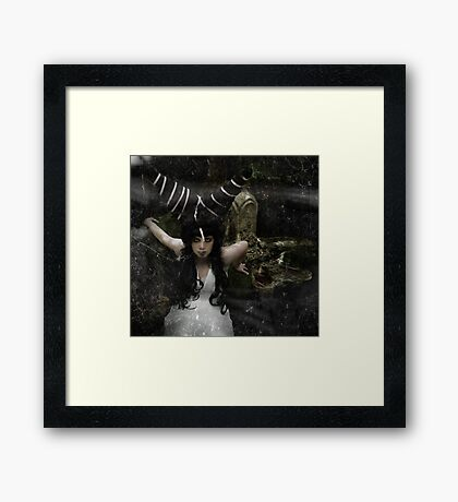 The last of it's kind Framed Print