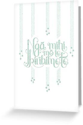 Nga mihi mo te kirihimete by Concept of the Good