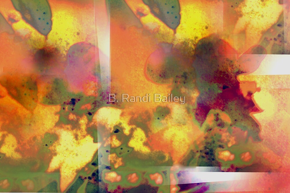 Abstract flower experience by ♥⊱ B. Randi Bailey