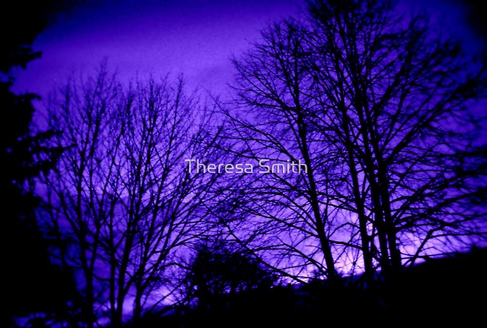 Purple Sky by Theresa Smith