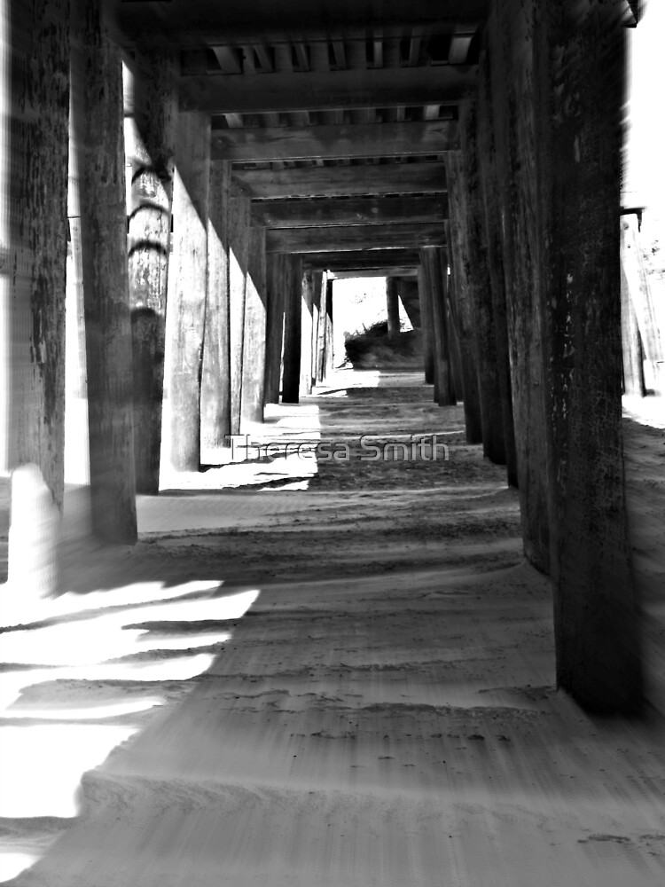 Under the Boardwalk 2 by Theresa Smith