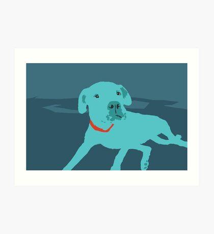 Bobdog Art Print