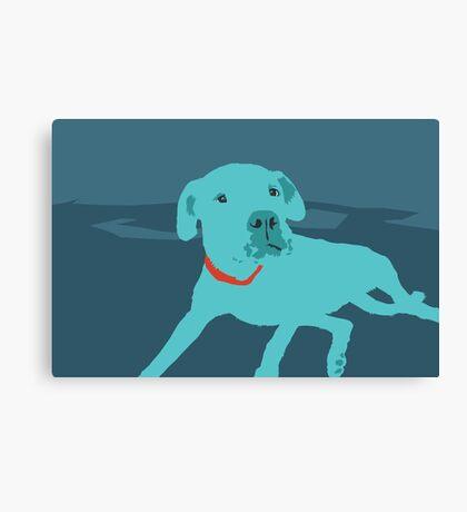 Bobdog Canvas Print