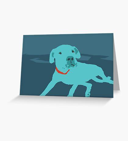 Bobdog Greeting Card