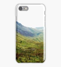 Black Sail Hut, Ennerdale, UK iPhone Case/Skin