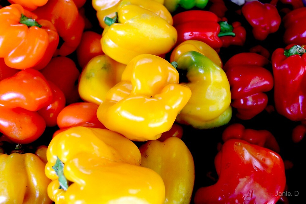 Bell Peppers by Janie. D
