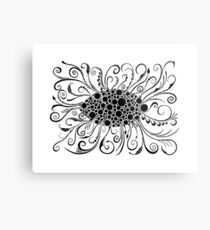 Eye Of Doodle Metal Print