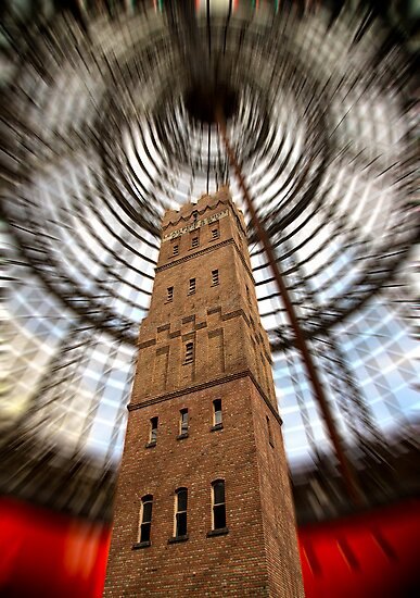 Coop's Shot Tower by Maree Cardinale