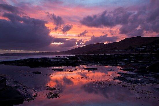Skenes Creek Sunset by Travis Easton