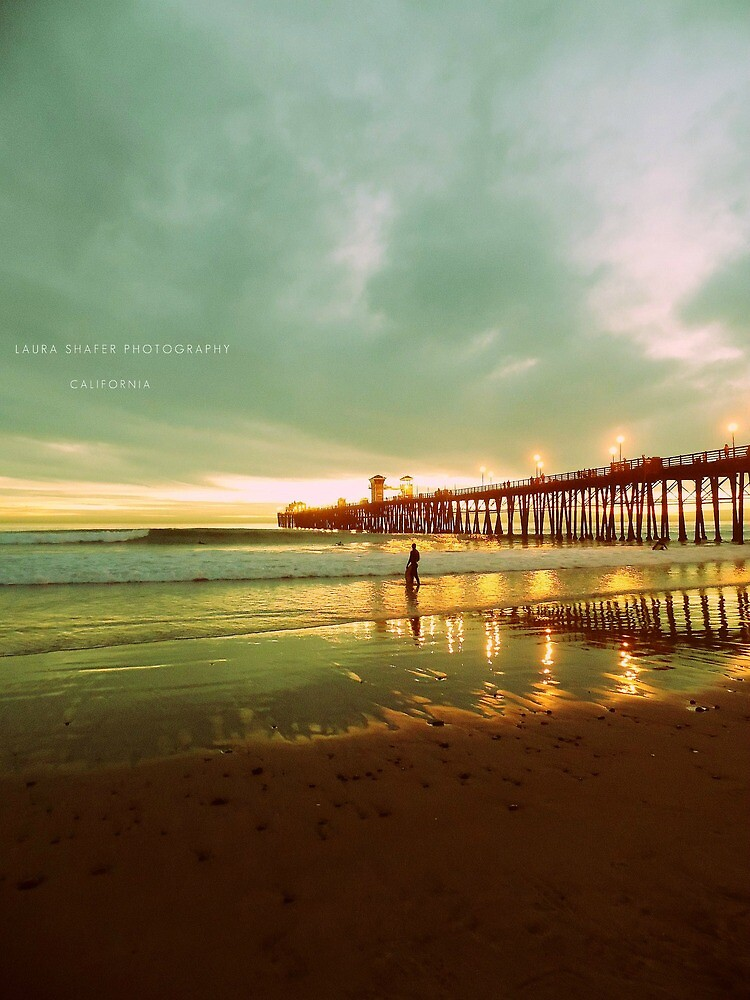 MEDIUM SEA GREEN SHORE #3CB371 by Laura E  Shafer