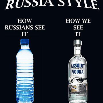 Russia Vodka style by worldart