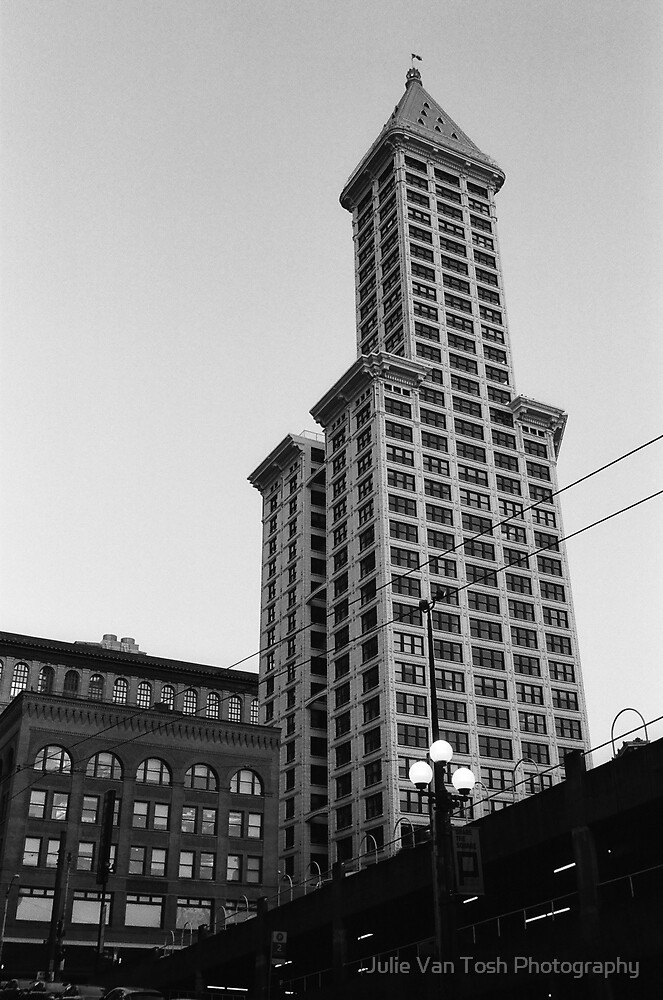 Smith Tower, Seattle, Washington by Julie Van Tosh Photography