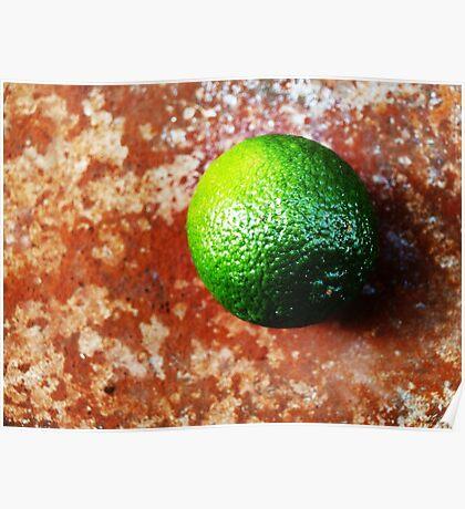 Lime on Iron VRS2 Poster