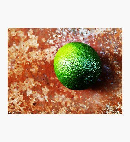 Lime on Iron VRS2 Photographic Print