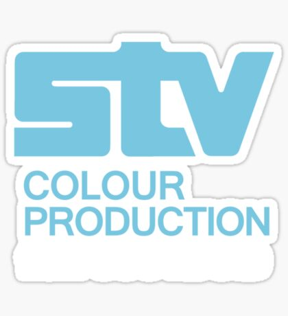 Scottish Television - STV Colour Production Sticker