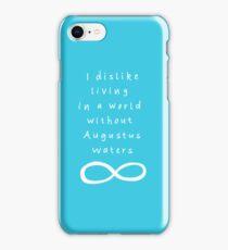 I dislike this world iPhone Case/Skin