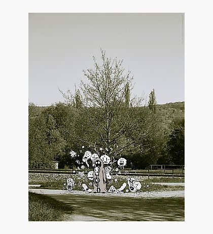 Femine at the Crossing VRS2 Photographic Print