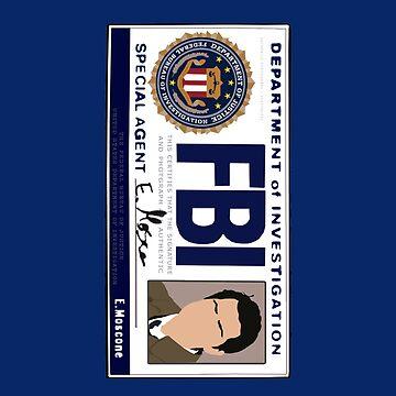 Castiel's FBI Badge by blainageatrois