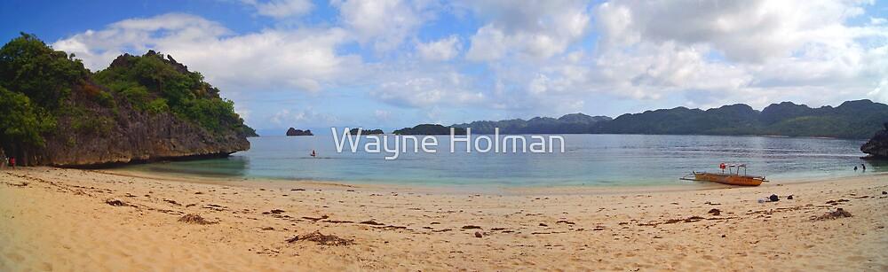 View from Matukad Island - Philippines by Wayne Holman