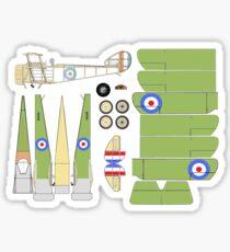 Sopwith Triplane Sticker
