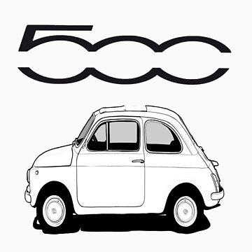 Fiat 500  by worldart