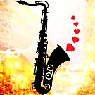 Sax and Love by Zoo-co