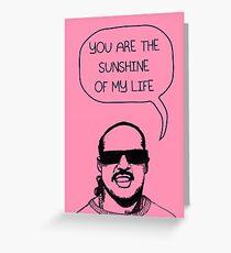 Stevie Wonderful 'Sunshine' Card Greeting Card
