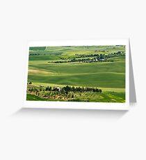 Around Pienza Greeting Card