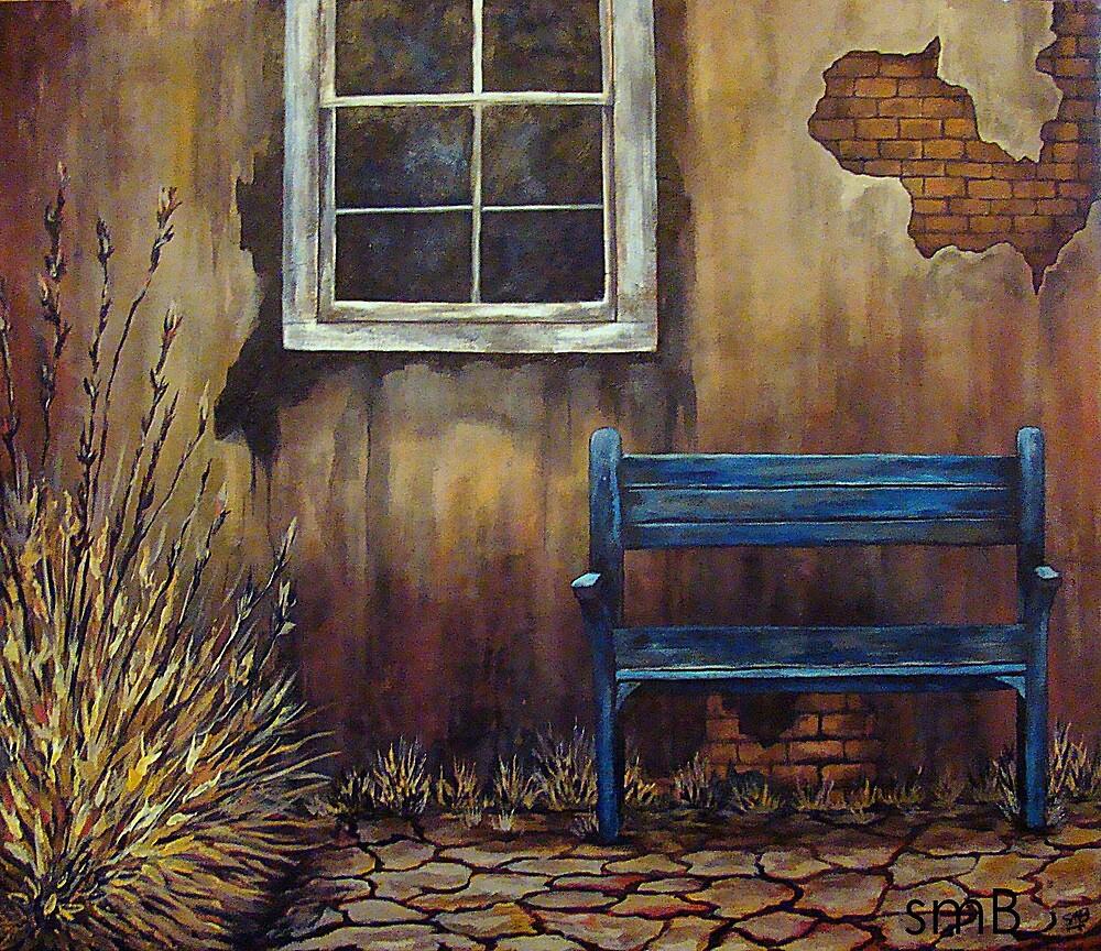 The Blue Bench by Susan McKenzie Bergstrom