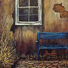 The Blue Bench by Susan  Bergstrom