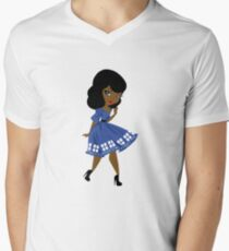 Bride's Companion B Men's V-Neck T-Shirt