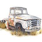 Kazart Rusty Truck by Kaz Sagovac