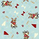 LoverBull Puppy Love by offleashart