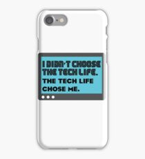 Tech life - 2 iPhone Case/Skin